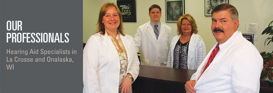 Hearing specialists in Onalaska and LaCrosse, WI